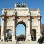 l'Arc de Triomphe du Carrousel, Paris