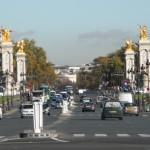 Esplanade des Invalides, Paris (from Musee de l'Armee)