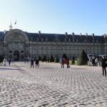 Musee de l'Armee Front (West Half), Paris (from Place des Invalides)