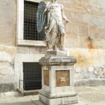 Castel Sant'Angelo Inner Plaza Statue, Rome, Italy