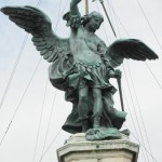 Archangel Michael Atop Castel Sant'Angelo, Rome, Italy