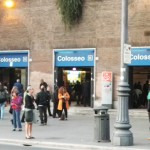 Metro Colosseo Station - Where I emerged in Rome, across from the Colosseum