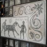 Colosseum Interior Mosaic, Rome