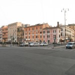 Neighborhood where I stayed & played in Rome
