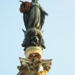 Colonna dell'Immacolata (Column of the Immaculate Conception) Top, Rome