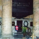 Pantheon Vittorio Emanuele II plaque & memorial, Rome