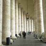 St. Peters Square Columns/Walkway, Vatican City, Rome, Italy