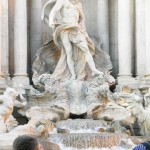 Trevi Fountain Close-up, Rome